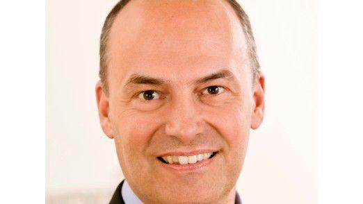 Daniel Hartert, Geschäftsführer von BBS und CIO der Bayer AG.