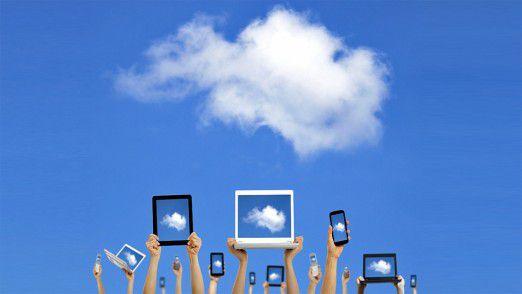 Ab in die Wolken: Das ungesteuerte Austauschen von Daten über Marktplätze weckt bei vielen Unternehmen zurecht Ängste.