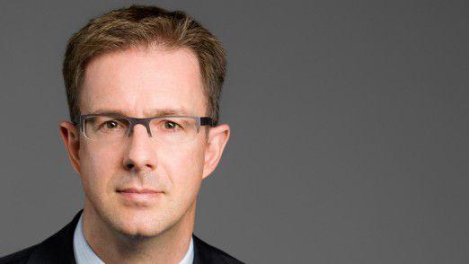 """Stephan Pfisterer, Bitkom: """" """"Wer mit einem Hochschulabschluss in Informatik auf den Arbeitsmarkt kommt, braucht sich keine Sorgen zu machen."""""""