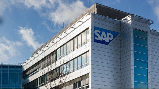 Die Konzernzentrale der SAP AG in Walldorf bei Heidelberg.