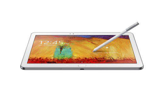 Das Samsung Galaxy Note 10.1 ist ein sehr schlanker und dennoch leistungsfähiger Slate-PC.