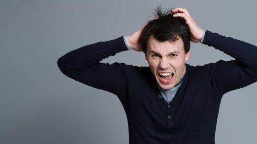 Ein Job zum Haare raufen: Viele Support-Mitarbeiter haben ihre liebe Not mit Anwendern, die mit Computern nichts am Hut haben.