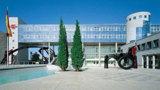 Würth-Zentrale in Künzelsau: Das Unternehmen hat weltweit etwa 72000 Mitarbeiter, davon 22000 in Deutschland.