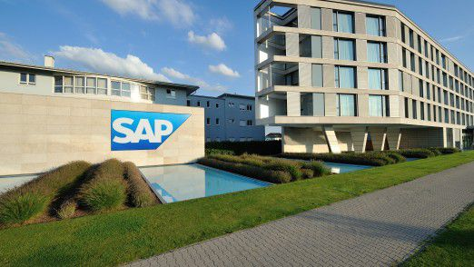 Die SAP-Zentrale in Walldorf
