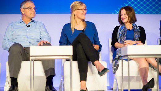 """Anna Alex, Gründerin von Outfittery (Mitte): """"Die erste Finanzierungsrunde ist am schwierigsten."""""""