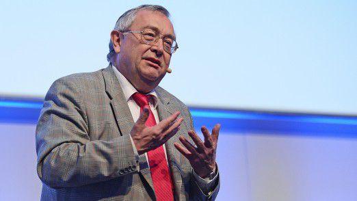 Munich RE CIO Rainer Janßen sprach Klartext auf den Hamburger IT-Strategietagen.
