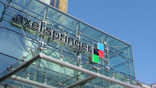 Das Medienhaus Axel Springer möchte insbesondere bei Online Anzeigen wachsen.