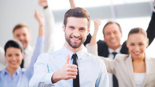 Sie wollen wenig Arbeit und viel Anerkennung: Dann bieten Sie ihrer Arbeitsgruppe als erstes an, die Präsentation zu halten.