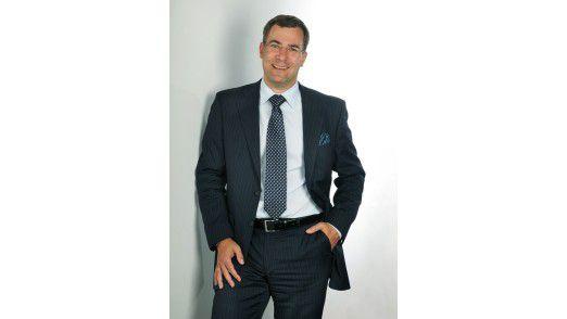 """Alexander Hauser, Geschäftsführer von e3 computing: """"Mit unserem patentierten Ansatz werden gleich von Anfang an die Investitionskosten erheblich reduziert."""""""