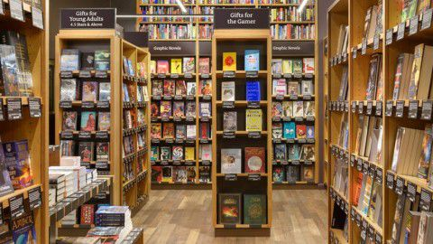 Einblick in Amazon Books - Foto: Amazon