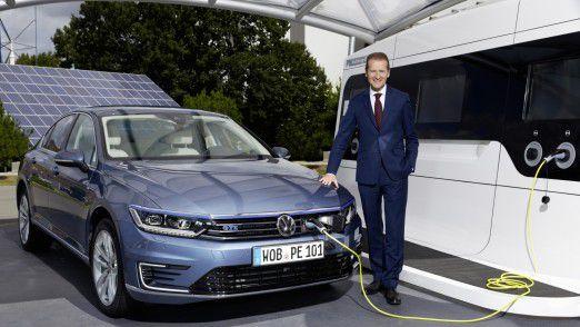 Herbert Diess: VW-Markenchef und nun auch Volkswagen-Konzernchef.