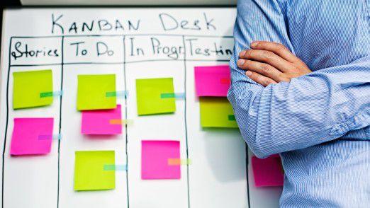 Sechs Faktoren sind ausschlaggebend, um ein Projekt agil umzusetzen.