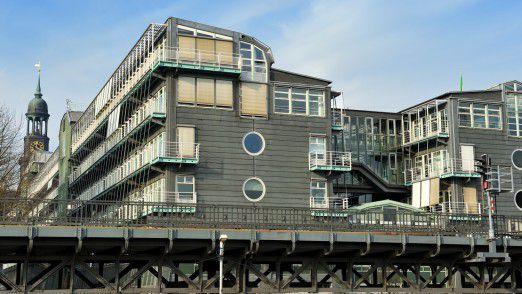 Das Pressehaus von Gruner + Jahr in Hamburg.