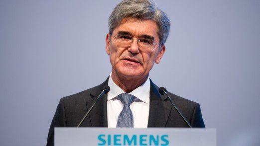 Der Siemens-Vorstandsvorsitzende Joe Kaeser befürchtet durch die fortschreitende Digitalisierung einen noch stärkeren Arbeitsplatz-Abbau als bisher.