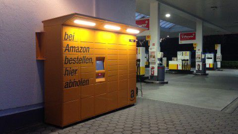 Amazon locker - Foto: Rene Schmöl
