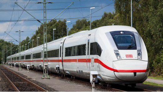 Das neue Flaggschiff für den Fernverkehr: Der neue ICE 4 der Deutschen Bahn.