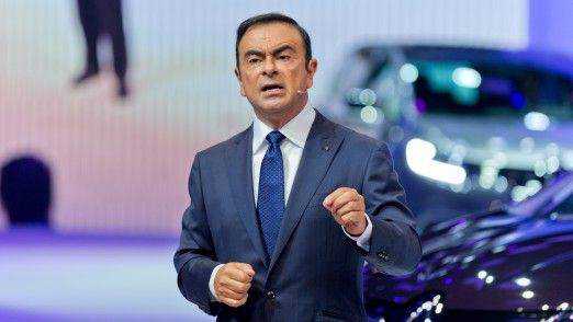 Renault-Chef Carlos Ghosn