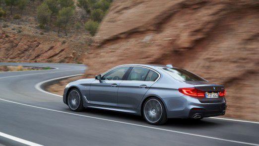Neu aufgelegt: Die für den amerikanischen Markt sehr wichtige BMW 5er Limousine (G30) soll die Verkaufszahlen wieder nach oben treiben.