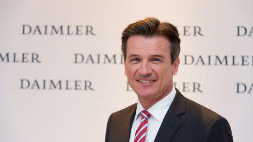 Wolfgang Bernhard, Vorstandsmitglied der Daimler AG