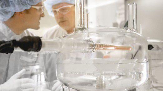 Das Kerngeschäft von BASF liegt bisher bei Chemikalien.