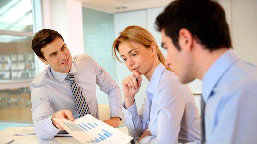 Gibt es materielle Anreize, entscheiden sich auch Männer für Teamarbeit.
