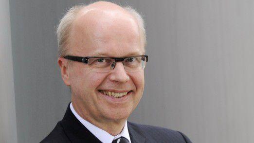 """Die Transformation vom klassischen Rechenzentrumsbetrieb zu flexiblen Cloud-Lösungen sei """"ein Meilenstein"""", sagt Henkel-CIO Joachim Jäckle."""