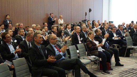 Rund 130 Teilnehmer aus den 380 Mitgliedsunternehmen trafen sich in Berlin, um Erfahrungen auszutauschen und zu netzwerken.