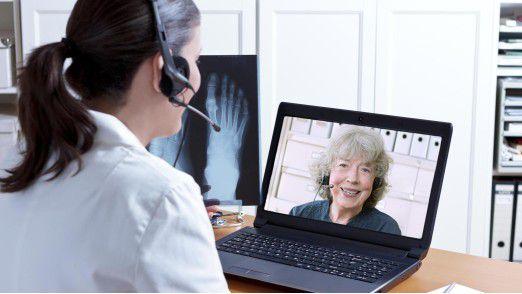 Telemedizin: Eine Chance für Menschen auf dem Land mit weiten Entfernungen zum Arzt.