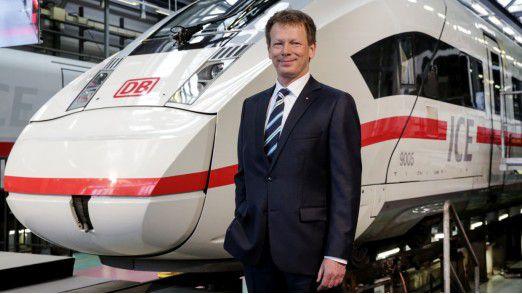 Richard Lutz, Vorstandsvorsitzender der Deutschen Bahn AG