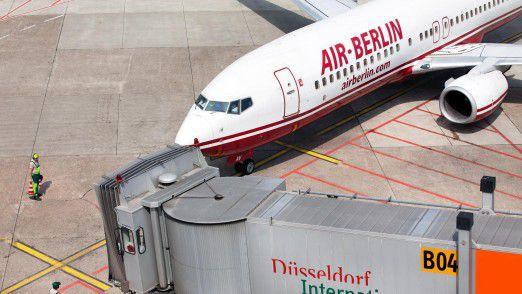 Am Boden: Die notwendige Liquidität für Air Berlin wollte Großaktionär Etihad nicht länger bereitstellen.