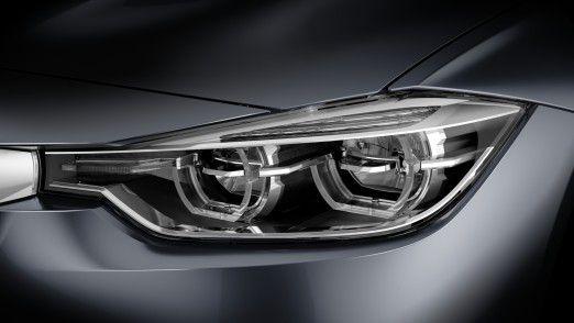 Hella-Scheinwerfer im BMW 3er: Der Automobilzulieferer fokussiert sich auf Wachstum.
