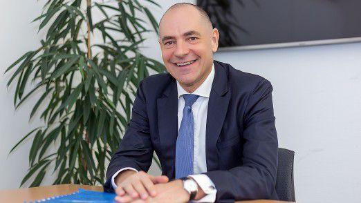 Volker Stadler, IT-Geschäftsführer der Volkswagen Bank GmbH.