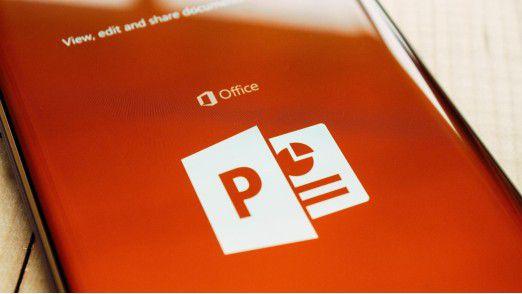 Bei vielen Mitarbeitern gilt: Mit Excel und E-Mail kennen sie sich aus, mit Powerpoint nicht so.