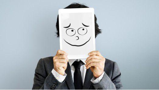 Die Mimik der Gesprächspartner in Meetings kann viel über deren Einstellung zum Thema verraten.