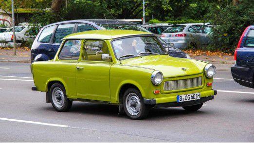 Unvergleichlich: Der Trabant 601.