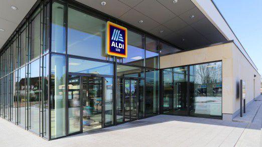 Neben moderneren Filialen hat Aldi Süd auch das Logo aufgefrischt.