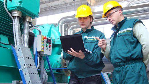 Je höher das Umsetzungspotenzial in der Branche, desto weiter verbreitet ist der Begriff Industrie 4.0.