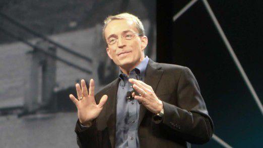 VMware-Chef Pat-Gelsinger hat keine guten Nachrichten für die Finanzanalysten.