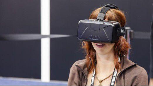 Die Virtual-Reality-Brille Oculus Rift soll in einigen Monaten für rund 600 Dollar in den Handel kommen. Der Startschuss für den lange ersehnten VR-Boom?