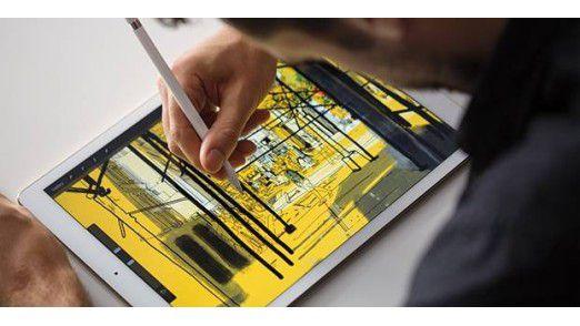 Auf dem 12,9-Zoll-Display des iPad Pro wirken einige iOS-Funktionen deplatziert.