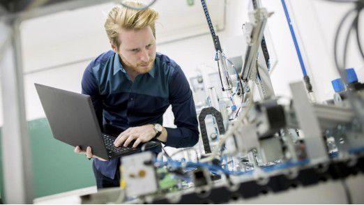 Ein Viertel der deutschen Maschinenbauer droht, bei der Digitalisierung den Anschluss zu verlieren.