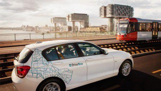 DriveNow: Das Carsharing-Angebot von BMW.
