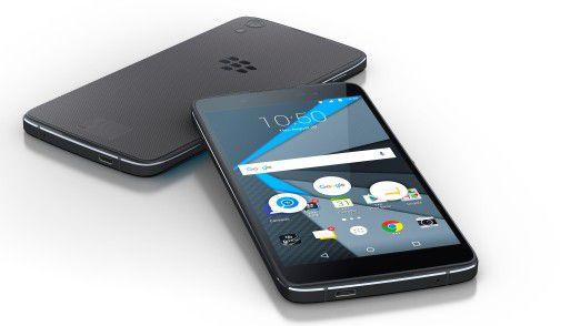 Mit dem DTEK50 versucht Blackberry erneut sein Glück im Android-Lager.