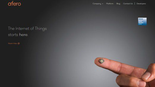 Afero stellt Funkmodule, Cloud-Services und Entwicklungs-Tools zur Verfügung.
