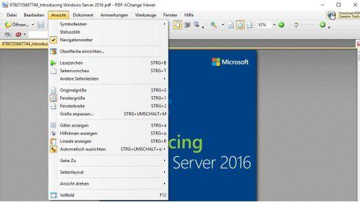 PDF-Xchange Viewer ist ein sehr flexibles Tool zur Anzeige und Erweiterung von PDF-Dokumenten.
