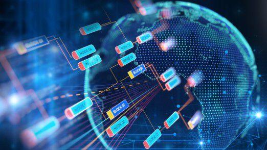 Die Blockchain-Technologie kann das Rückgrat einer IoT-basierten Wirtschaft bilden.