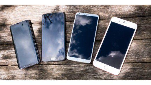 Mit jedem Smartphone kann man fotografieren. Aber die Qualität der Kamera ist unterschiedlich.