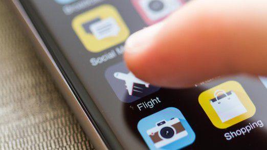 Per Klick zum Flug - was privat gilt, sollte auch bei Geschäftsreisen möglich sein.