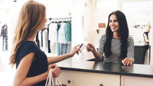 Die Geschäfte im Einzelhandel liefen 2017 gut.