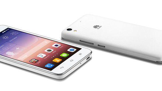 Huawei Ascend G620 - Günstiges LTE-Smartphone für unter 150 Euro.